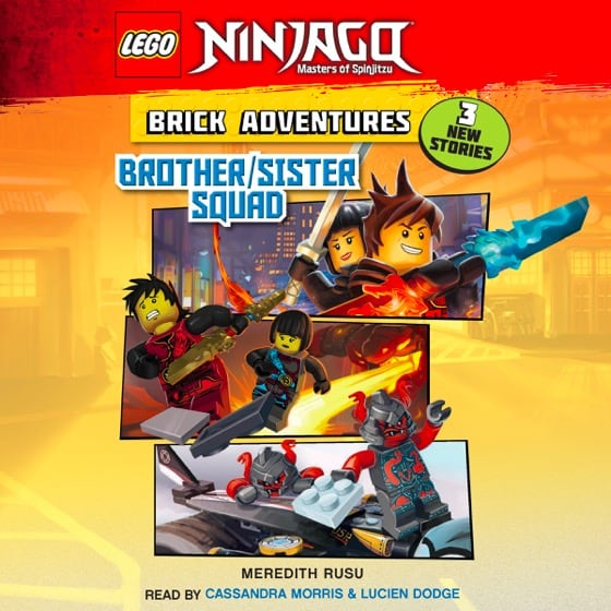 Lego® Ninjago: Brick Adventures #1: Brother/Sister Squad