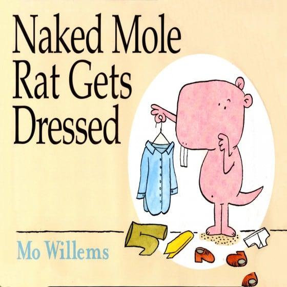 Naked Mole Rat Gets Dressed